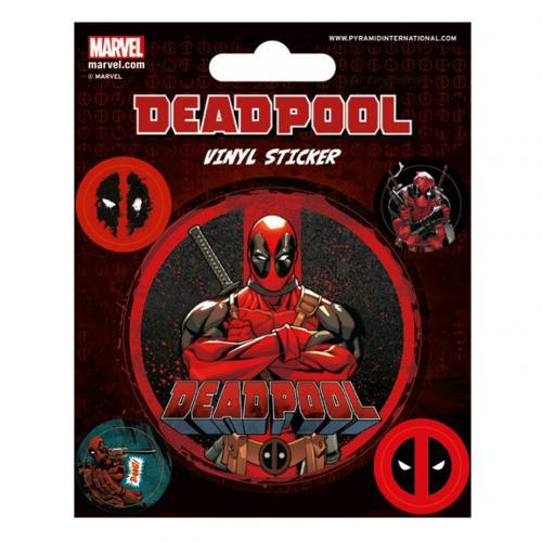 Image of Adesivo Deadpool 228863