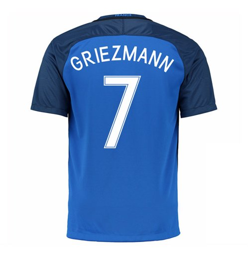 Image of Maglia Francia 2016-2017 Home (Griezmann 7)