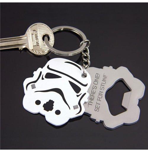 Image of Portachiavi Apribottiglia Star Wars - Stormtrooper