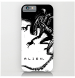 alien-iphone-6-plus-schutzhulle-xenomorph-black-white-comic