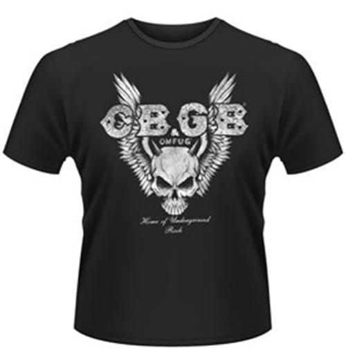 Image of T-shirt CBGB Skull Wings