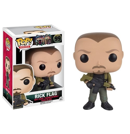 Image of Funko - Pop! Movies - Suicide Squad - Rick Flagg (Vinyl Figure)