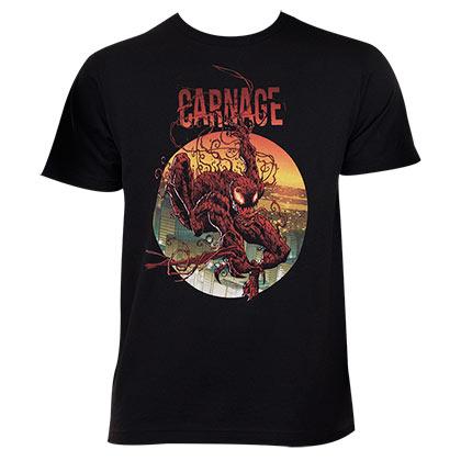 Image of T-shirt Carnage da uomo