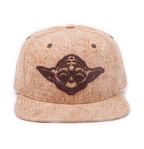 Image of Star Wars - Yoda Cork Snapback (Cappellino)