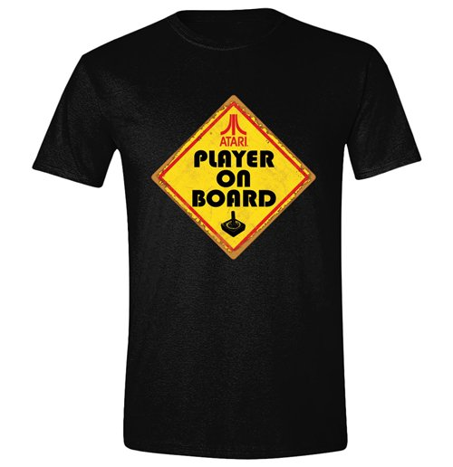 Image of Atari - Player On Board Black (T-SHIRT Unisex )