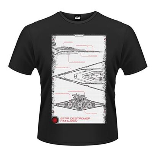 Image of Star Wars The Force Awakens - Star Destroyer Manual (T-SHIRT Unisex )