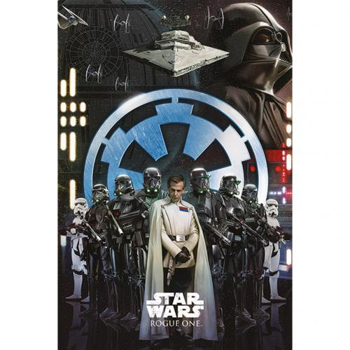 Póster Star Wars Rogue One Empire 241