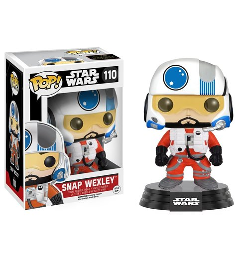 Image of Funko - Pop! Star Wars - Snap Wexley (Bobble-Head)