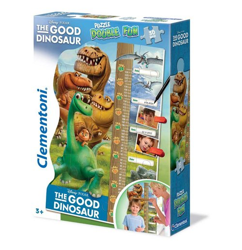 Image of Puzzle Double Fun - Puzzle Maxi 30 Pz Metro Crescita - The Good Dinosaur - Il Viaggio Di Arlo