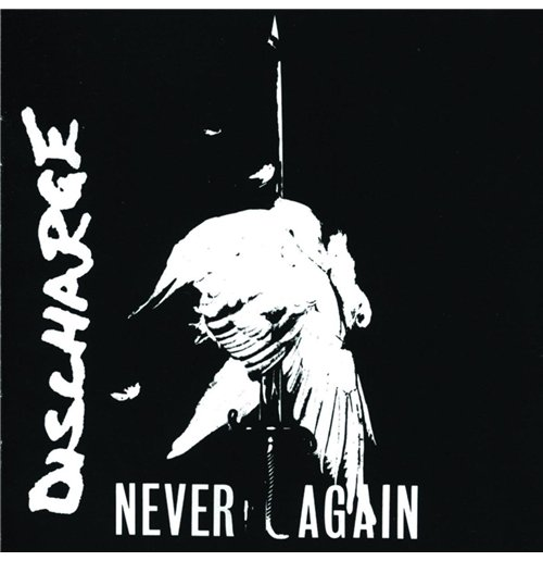 Image of Vinile Discharge - Never Again