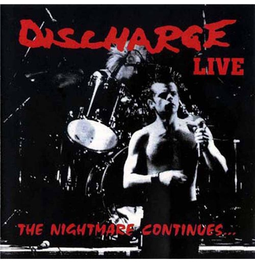 Image of Vinile Discharge - The Nightmare Continues