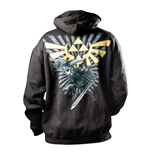 sweatshirt-zelda-mit-goldenen-triforce