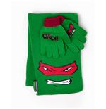 geschenkset-ninja-turtles-handschuhe-und-schal-raphael