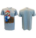 t-shirt-nintendo-super-mario-melange-grau