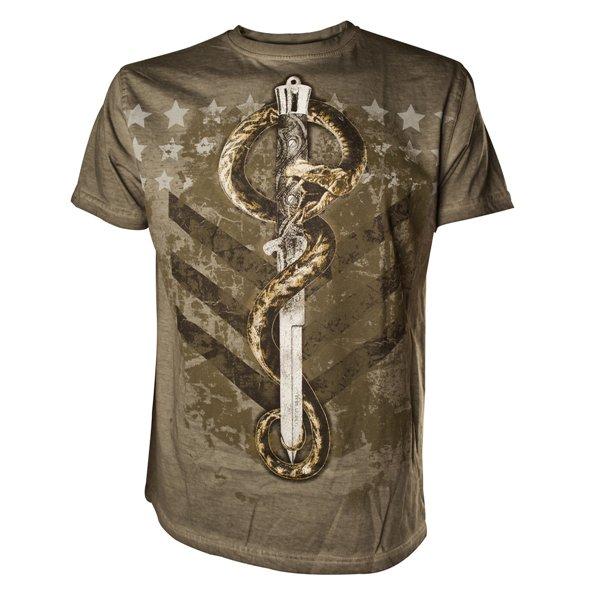 Image of T-shirt Alchemy - Venom Ranger. Army