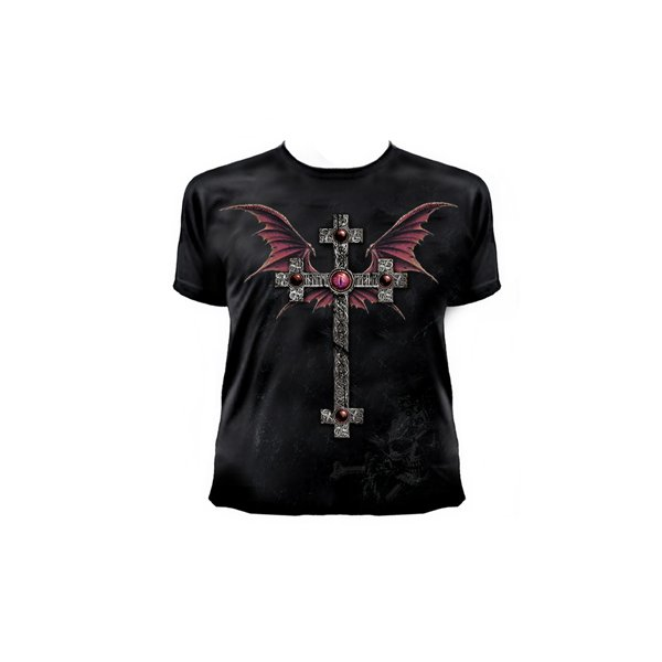 Image of T-shirt George's Cross' - Alch Goth