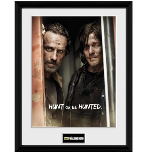 Image of Walking Dead (The) - Rick & Daryl (Foto In Cornice 30x40cm)