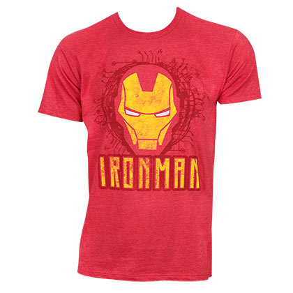 camiseta-iron-man-face-logo
