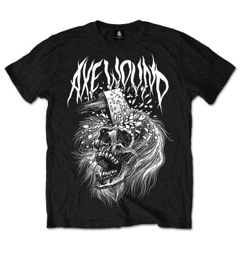 Image of T-shirt AxeWound Skull