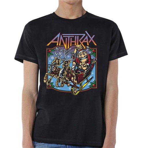Image of T-shirt Anthrax Christmas is Coming