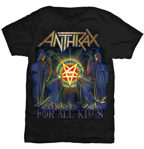 Image of T-shirt Anthrax For All Kings Cover