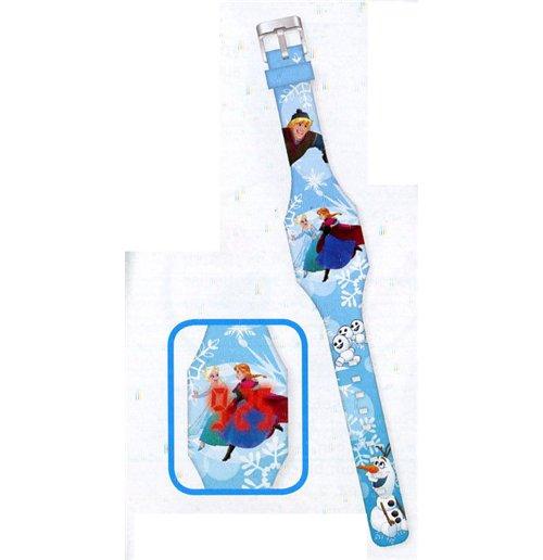Image of Frozen - Orologio Led Premi Per Vedere L'Ora