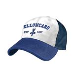 kappe-yellowcard-weiss-blau-flex-cap