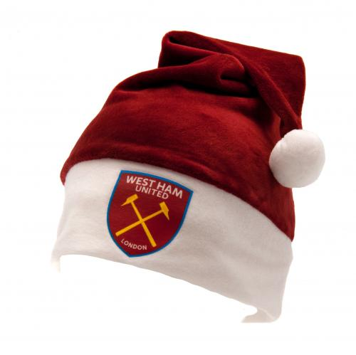 Image of Cappello Babbo Natale West Ham United