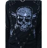 shirt-mit-schadel-print-bondages, 13.00 EUR @ merchandisingplaza-de