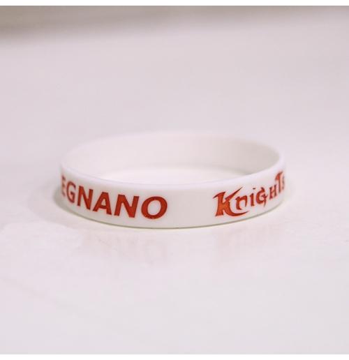 Image of Braccialetto bianco Legnano Basket Knigths