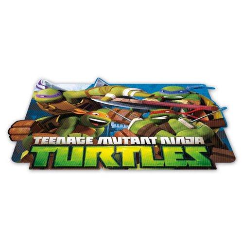 Image of Ninja Turtles - Tovaglietta Segnaposto Lenticolare