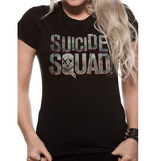 Suicide Squad - Logo (T-SHIRT Donna )