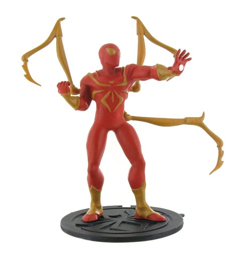 Image of Statuetta Ultimate Spider-man Iron Spider-Man 9 cm