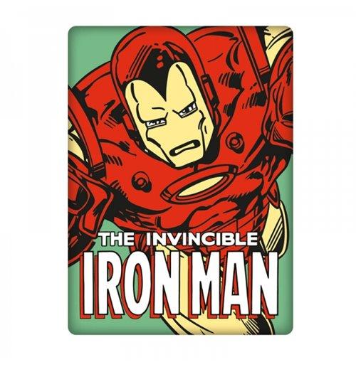 Imã de metal Marvel - Iron Man