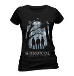t-shirt-supernatural-group-outline-tailliert-fur-frauen-in-schwarz-