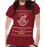 t-shirt-harry-potter-xmas-crest-unisex-in-rot