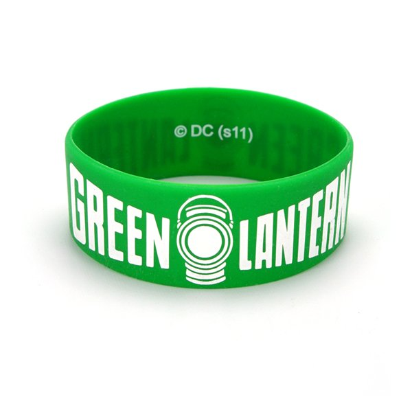pulseira-green-lantern-thick-green-lantern-logo