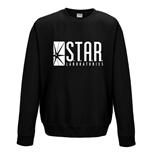 sweatshirt-flash-star-labs-unisex-sweatshirt-on-schwarz
