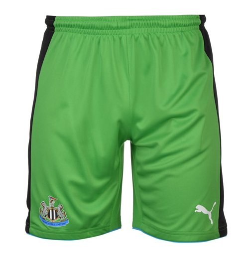 Image of Pantaloncini Short Newcastle United 2016-2017 Home (Verde)
