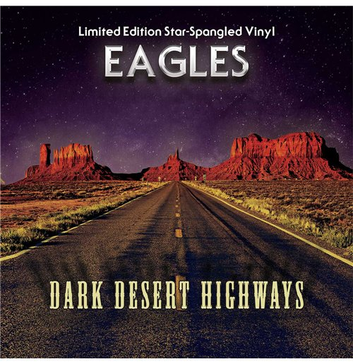 Image of Vinile Eagles - Dark Desert Highways Blue Vinyl