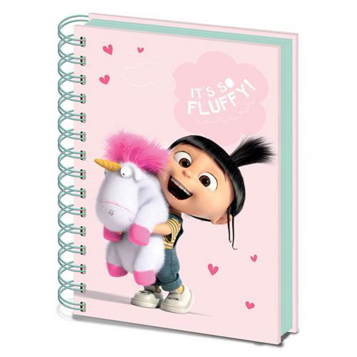 Agenda Gru, meu malvado favorito - Minions A5 - Fluffy Unicorn