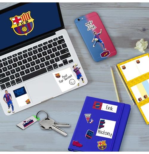 Image of Puffy Sticker Giocatori Barcellona