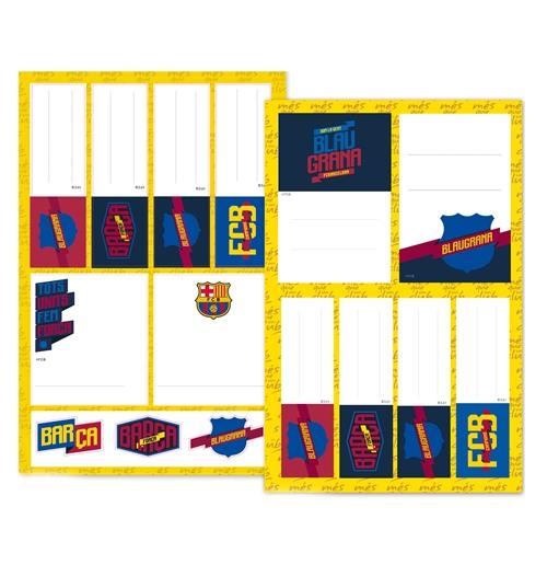 """Image of Etichette Adesive """"Fun"""" Barcellona"""