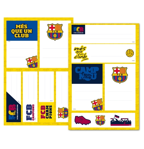 "Image of Etichette Adesive ""Basic"" Barcellona"