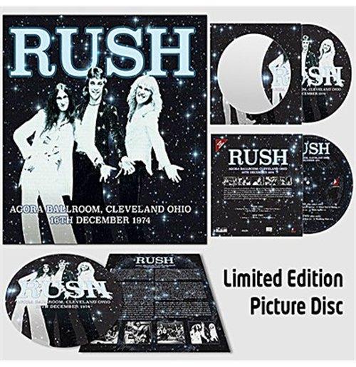 Image of Vinile Rush - Agora Ballroom, Cleveland Ohio 16Th Dec 1974 (Picture Disc)
