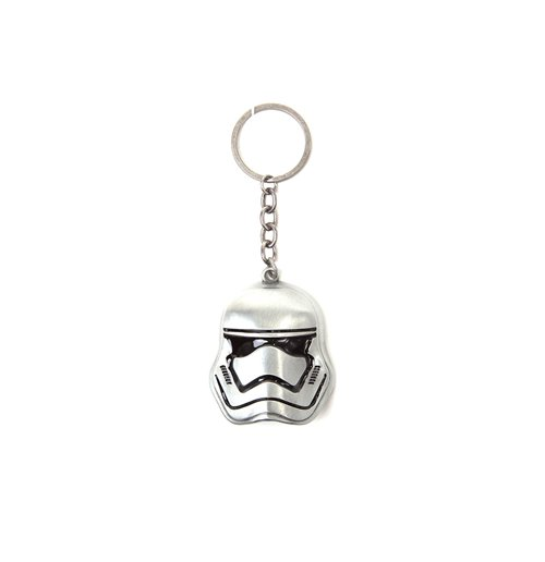Image of Star Wars - 3D Stormtrooper Silver (Portachiavi In Metallo