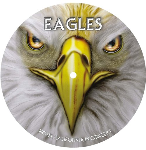 Image of Vinile Eagles - Hotel California In Concert Picture Disc