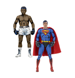dc-comics-actionfiguren-doppelpack-superman-vs-muhammad-ali-special-edition-18-cm
