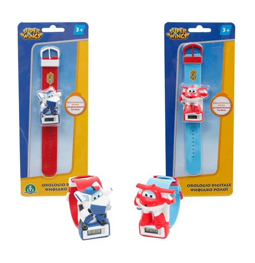Image of Super Wings - Orologio Con Personaggio (Assortimento)