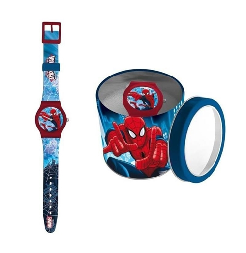 Image of Orologio in Box latta Spiderman